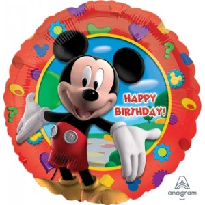 "Anagram Foil - 17"" Mickey's Clubhouse Birthday , A-S60-14055"