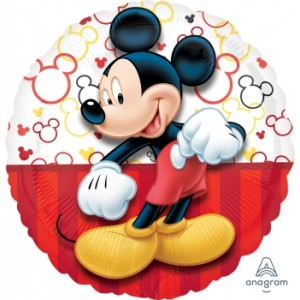 "Anagram Foil - 17"" Mickey Portrait , A-S60-30645"