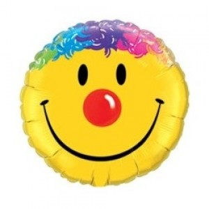 "9"" Foil Smile Face / Air-fill , QF09RI25925"