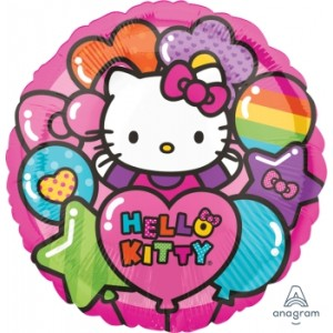 "Anagram Foil - 17"" Hello Kitty Land , A-S50-29444"