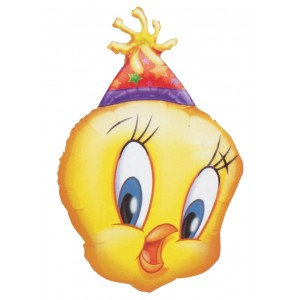"Anagram Foil - 30"" Party TWEETY (Super Shape) , #A-C-05760"