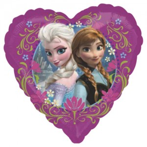 "Anagram Foil - 17"" Disney Frozen Love (Heart Shape) , A-S60-29842"