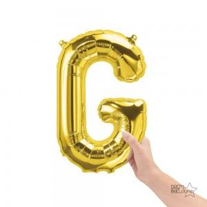 """Northstar Foil - 16"""" Letter """"G"""" - Gold / Mini Shape _ Air / Valved (Pkgd.), NS-16-59508G"""