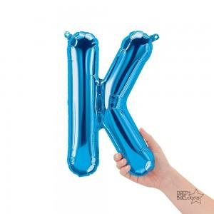 """Northstar Foil - 16"""" Letter """"K"""" - Blue / Mini Shape _ Air / Valved (Pkgd.), NS-16-59402B"""