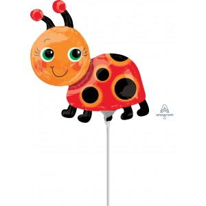 "Anagram Foil - Mini Shape - 12"" Miss Lady Bug A-A30-37097"