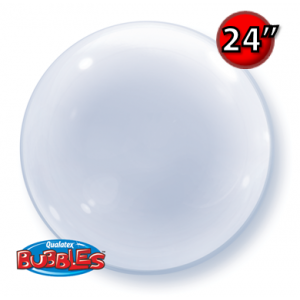 "Deco Bubble 24""- Clear (Pkgd.), QBDECO-68825"