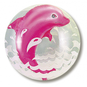 "Double Bubble 24"" Jumping Dolphin - Pink , CJB-TKR420123"