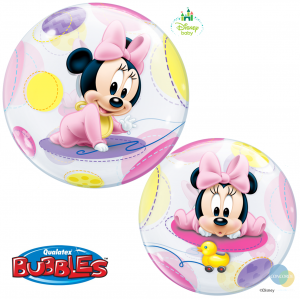 "Bubble 22"" Disney Baby Minnie Mouse (Pkgd.), QBB-16430 (1)"