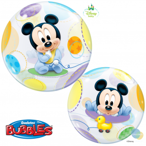 "Bubble 22"" Disney Baby Mickey Mouse , QBB-16432"