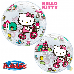 "Bubble 22"" Disney Hello Kitty (Pkgd.), QBB-41707 (1)"