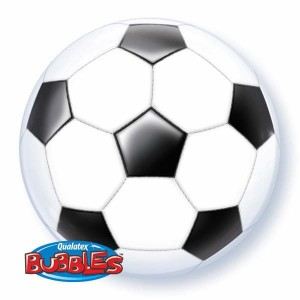 "Bubble 22"" Soccer Ball , *QBB-19064"