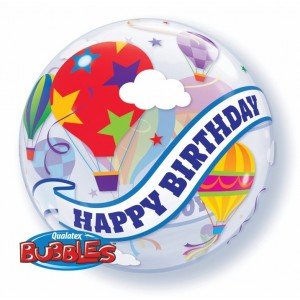 "Bubble 22"" Birthday Hot Air Balloon Ride , *QBB-41779"