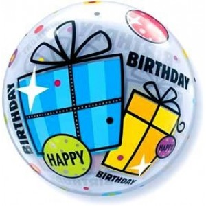 "Bubble 22"" Birthday Fun & Funky Gifts , *QBB-68649"
