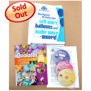 "Qualatex - QBN Multi Language Kit Bundle *without ""Design Basics with Balloons"" Book , **QE-96729"