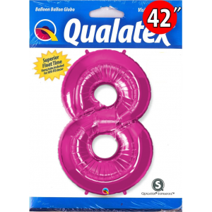 "Number Magenta 數字【8】42"" , QF42NP30596"