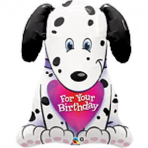 "31"" Foil Puppy For Your Birthday (pkgd.) , #QF31SI33372"