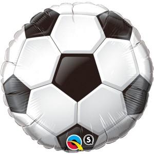 "18"" Foil Soccer Ball (pkgd.) , *QF18RI71597"