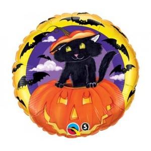 "18"" Foil Cat In The Jack , #QF18SI22130"