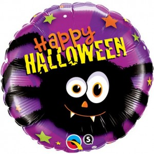 """18"""" Foil Halloween Party Spider , #QF18SI27001"""