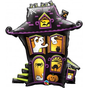 """31"""" Foil Haunted House , #QF18SI67007"""