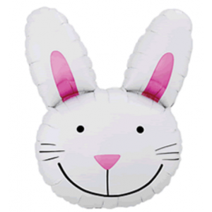 "34"" Foil Easter Rabbit , #QF34SI53430"