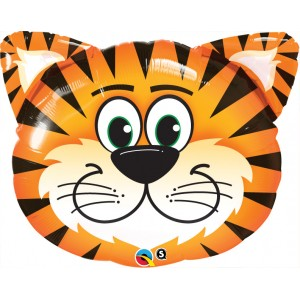 "30"" Foil Tickled Tiger , #QF30SI31041"
