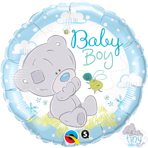 "18"" Foil Tiny Tatty Teddy Baby Boy (pkgd.) , *QF18RI28172"