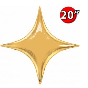 "Starpoint 20"" Metallic Gold , QF20SP22917"