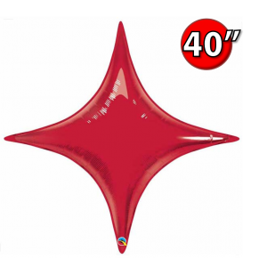 """Starpoint 40"""" Ruby Red , *QF40SP31869 <Helium #C>"""