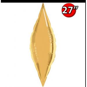 """Taper 27"""" Metallic Gold / Air-fill , QF27SP17133"""