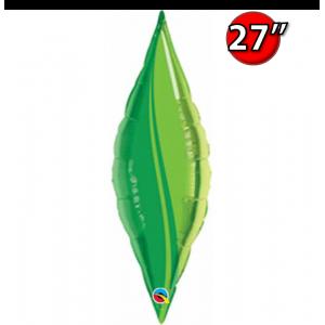 """Taper 27"""" Green Leaf / Air-fill , *QF27SP17137"""