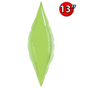 """Taper 13"""" Lime Green / Air-fill , **QF13SP32020"""