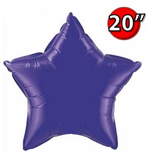 """Foil Star 20"""" Quartz Purple (Non-Pkgd.), QF20SP12645 (0) <10 Pcs/包>"""