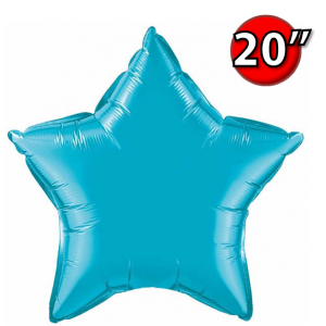 "Star 20"" 星形 Turquoise , *QF20SP24819 <Helium #B>"