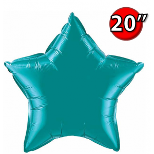 "Star 20"" 星形 Teal , *QF20SP36576 <Helium #B>"