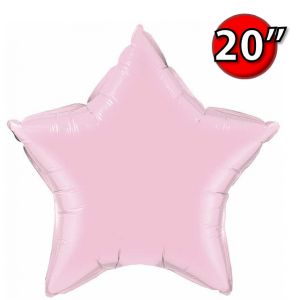 "Star 20"" 星形 Pearl Pink , *QF20SP54805 <Helium #B>"