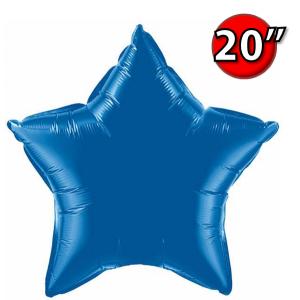 """Foil Star 20"""" Dark Blue (Non-Pkgd.), QF20SP86472 (0) <10 Pcs/包>"""