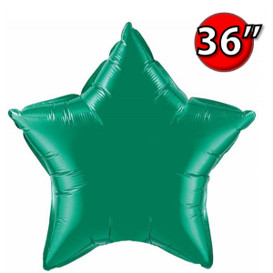 "Star 36"" 星形 Emerald Green , QF36SP22374 <Helium #D>"