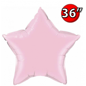 "Star 36"" 星形 Pearl Pink , *QF36SP74631 <Helium #D>"