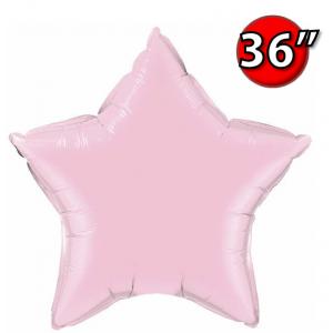 "Foil Star 36"" Pearl Pink (Non-Pkgd.), QF36SP74631 (0) <10 Pcs/包>"