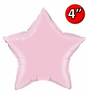"Star  4"" 星形 Pearl Pink , *QF04SP54571 <Air #A>"