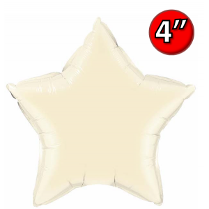 "Star  4"" 星形 Pearl Ivory , *QF04SP54576 <Air #A>"