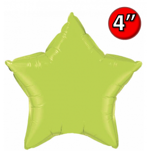 "Star  4"" 星形 Lime Green , *QF04SP63775 <Air #A>"