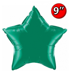"Star  9"" 星形 Emerald Green , *QF09SP24132 <Air #A>"