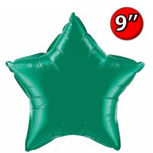 """Foil Star 9"""" Emerald Green / Air Fill (Non-Pkgd.), QF09SP24132 (0) <10 Pcs/包>"""