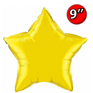 "Star  9"" 星形 Citrine Yellow , QF09SP24144 <Air #A>"