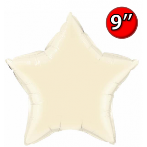 "Star  9"" 星形 Pearl Ivory , *QF09SP54800 <Air #A>"
