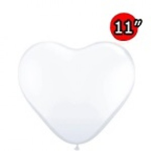 "Heart 11"" Diamond Clear , *QL11HJ43721"
