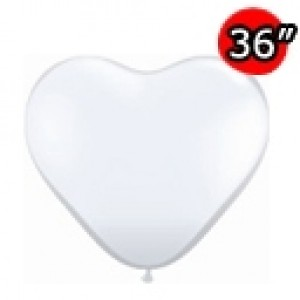 "Heart 36"" (3') 心形 Diamond Clear (2ct) , *QL36HJ44522"