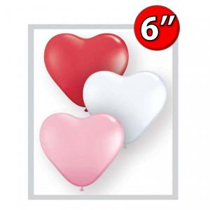"Heart Assortment  6"" 心形 - Sweetheart , QL06HS43644 (3)"